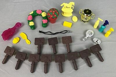 Grand Champions Marchon Horse Pony Fantasy Fillies Accessory Brushes Trophy Lot
