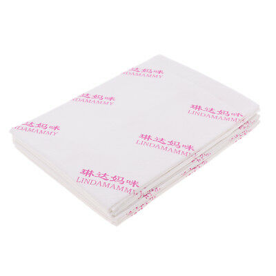 4pcs Disposable Incontinence Bed Underpads Sheets Pee Pad Mattress Protector