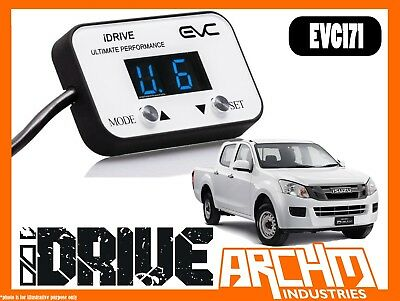 Isuzu Dmax 2012-Onwards Idrive Windbooster Throttle Controller I Drive