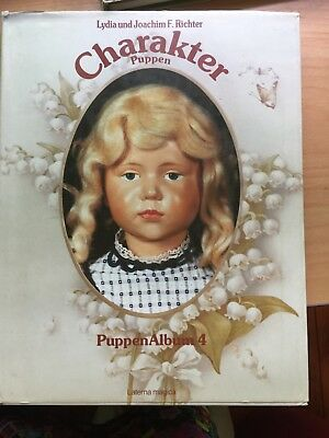 Character Puppen Doll Book Album 4 - Words Are German,the Pictures Are Divine!~