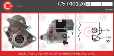 Motor de arranque CASCO CST40126AS HONDA