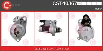 Motor de arranque CASCO CST40367AS HONDA