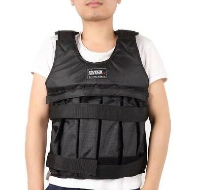 Weighted Vest for Gym Resistance Training Boxing Running Fit Squats MAX 50kg!!!