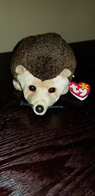 Ty Beanie Babies 1998 Prickles The Hedgehog Retired Plush Toy NWT