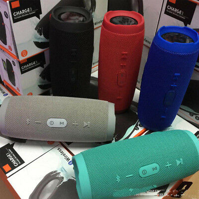 Charge 3+ Waterproof Portable Wireless Bluetooth Speaker Multi-Color New