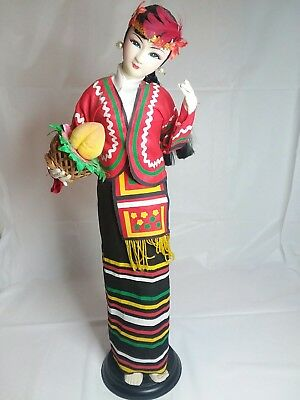 """Vtg Traditional Chinese Doll Pre-Owned  14""""1/2"""