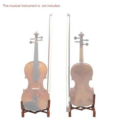 Universal Adjustable Stand Holder for 4/4 3/4 1/2 1/4 Size Violin Accessory Y0Z9