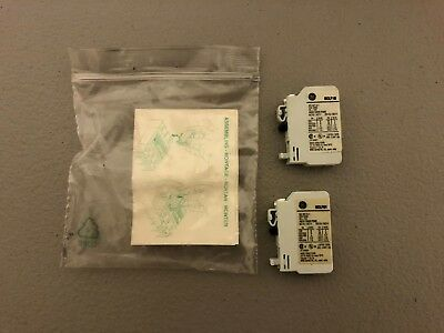 New In Package General Electric Contact Blocks Bclf01 And Bclf10