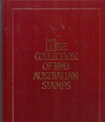 1983 Collection Of Australian Stamps  Red Beautiful Xmas Present.