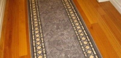Hallway Runner Hall Runner Rug Modern Grey 9 Metres Long We Can Cut To Any Size!