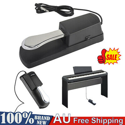 Electric Piano Keyboard Sustain Damper Pedal for Casio Yamaha Roland Organ W8T0