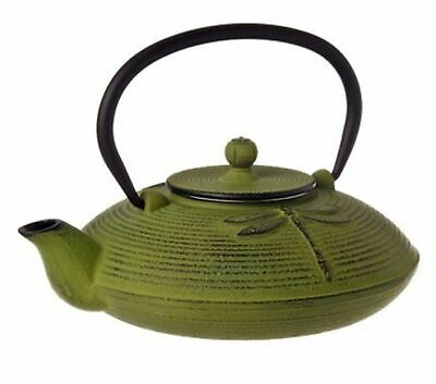 NEW TEAOLOGY CAST IRON TEAPOT Tea Pot Brew Strainer DRAGONFLY 770ml