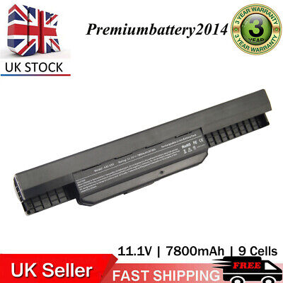9Cell Laptop Battery For ASUS A32-K53 A42-K53 K53E K53S K53F A53E X54H X53U X54L