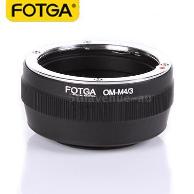 Fotga OM-M4/3 Adapter Ring Mount for Olympus OM Lens to Micro M4/3 Mount Camera