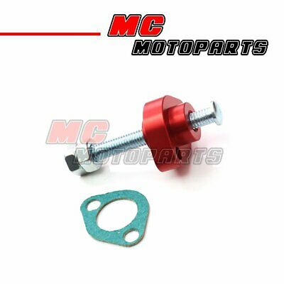 Fit VTR 1000 Super Hawk 98 99 00 01-05 Manual Timing Cam Chain Tensioner Red CNC