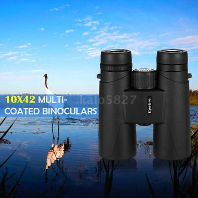 Portable 10X42 Binocular Multi-Coated Optics Fogproof Shockproof Binoculars S2W6