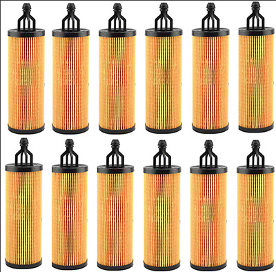 12Pcs 156*50*23mm Oil Filter OEM 68191349AA MO-349 12* Oil Filters Engine Parts