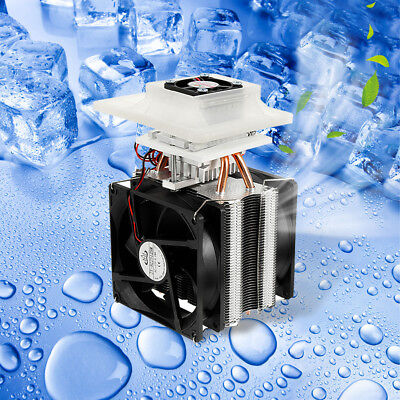 12V 10A DIY Electronic Semiconductor Radiator Refrigerator Cooler Cooling System