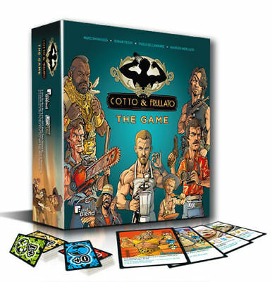 gioco da tavolo  COTTO & FRULLATO the game  Nuovo - Magic Press