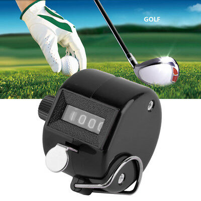 Digit Hand Held Tally Counter Manual Palm Clicker Number Counting Golf  DA