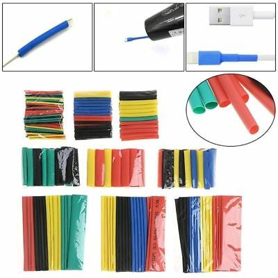 328PCS Assortment Heat Shrink Sleeve Electrical Cable Tube Tubing Wrap Wire Kit