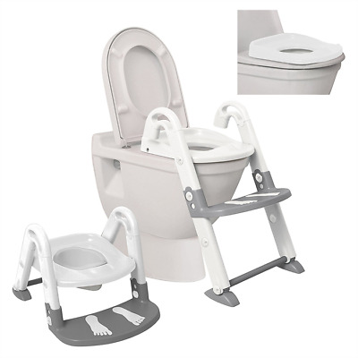 Dreambaby 3 In 1 Toilet Trainer - White / Grey - New