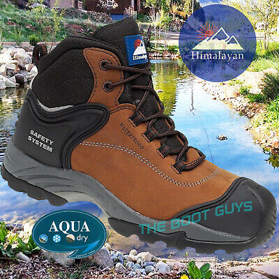 Gravity 4104 Waterproof Composite Safety Boots Work Boot Himalayan Metal Free