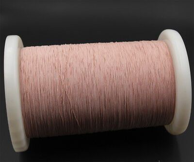 50m ( 165 ft ) Litz wire 38/44, 38 x 0.05mm, for crystal radio coil