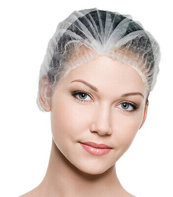 Professional Non Woven Disposable Cosmetic Cap for Beauty Treatments 100pcs