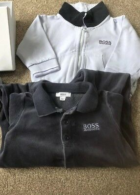 hugo boss baby boy clothes
