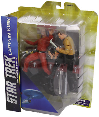 Star Trek 1967 Captain Kirk VS Khan DioramaFigure Diamond Select **BOX DAMAGED**
