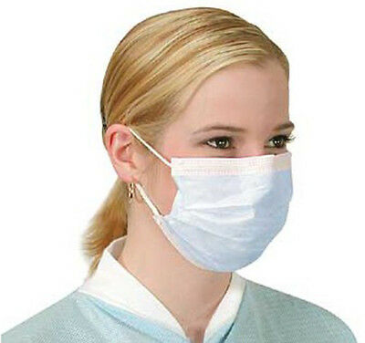 Disposable Face Mask For Beauty Treatment, Dust Protection 50pcs