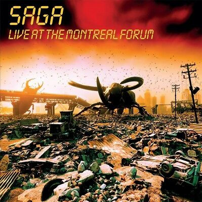 SAGA - Live At The Montreal Forum. New CD + Sealed. **NEW**