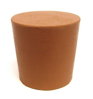 Red Rubber Bung Stopper No 45