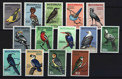 Botswana 1967, Birds , SC 19-32 , SG 220-233 , MM