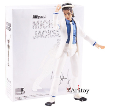 SHF S.H.Figuarts King of POP MJ Michael Jackson Moonwalk PVC Action Figure