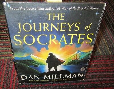 The Journeys Of Socrates 5-Disc Cd Audiobook By Dan Millman, Rare Hard To Find
