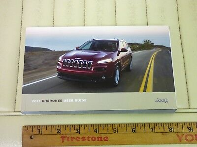 2017 JEEP CHEROKEE User Guide Owners Manual OEM NEW