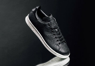 ADIDAS ORIGINALS STAN Smith Real Leather Black  s Trainers Trainers s Uk . bb922e