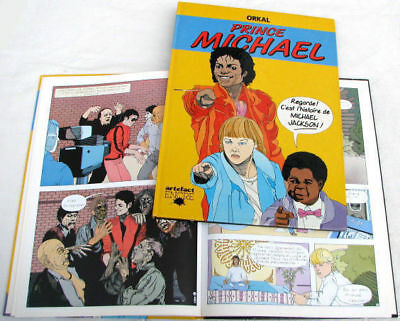 Michael Jackson Prince BD Francaise French Comic Book 1984