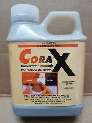 CORAX EXCELLENT RUST TREATMENT REMOVER CONVERTER 250 CC. / 8,50 Oz. !!!