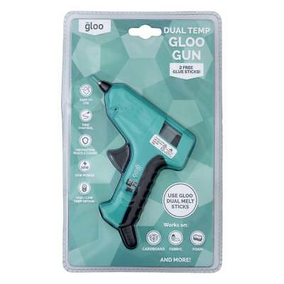 NEW Gloo Dual Temperature Low & High Glue Gun By Spotlight