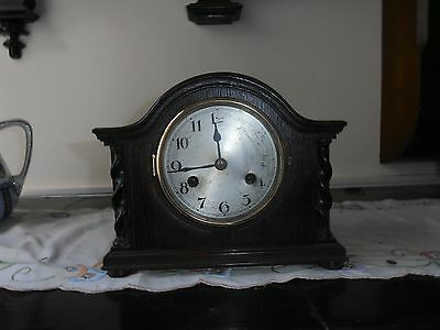 Small Wooden Mantle Clock