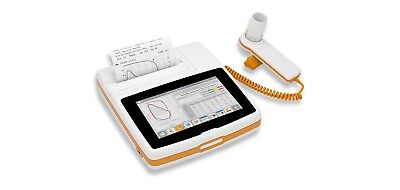 MIR Spirolab 7 inch Touchscreen Desktop Spirometer w/ Oximetry and Bluetooth