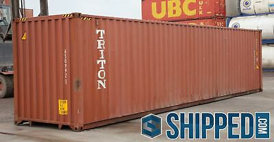 We Deliver Used 40 Ft High Cube Shipping Containers Home Storage Charleston, Sc