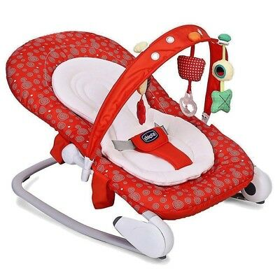 CHICCO Transat Hoopla  Baby Bouncer Red berry