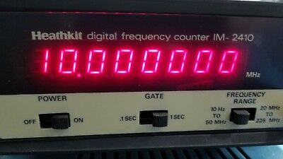 Heath Kit Frequency Counter IM 2410