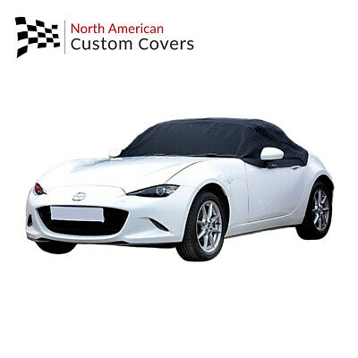 Mazda Miata MX5 Mk4 Convertible Soft Top Roof Half Cover - 2015 to 2020 (262)