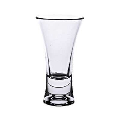 Thunder Group PLTHSG002AC 2 oz Clear Polycarbonate Flared Shot Glass