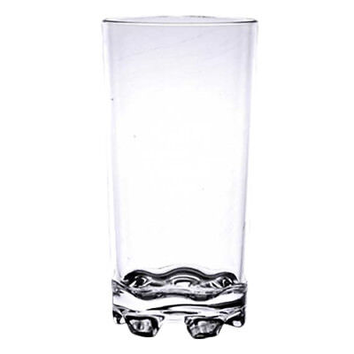 Thunder Group PLTHST012C 12 oz Clear Polycarbonate Stackable Classic Tumbler